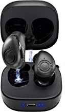 True Wireless Earbuds Headphones, Superior 3D Stereo Sound 5.0 Mini Totally Wireless in Ear Earbuds, 18Hr Play Time, SweatProof Sports Earphones Headset, Built in Mic w/Dual Speakers for Phone Calls