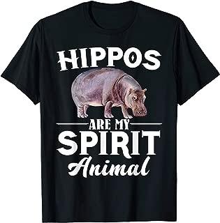 Hippos Are My Spirit Animal Shirt - Hippos Lover T-Shirt