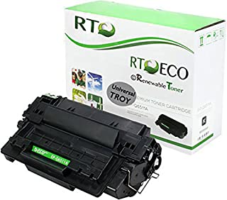 Renewable Toner Compatible MICR Toner Cartridge Replacement for Troy 02-81133-001 HP 11A Q6511A Laserjet 42420 2420 2430