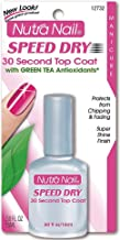 Nutra Nail Speed Dry 30 Second Top Coat with Green Tea Antioxidants 0.50 oz (Pack of 2)