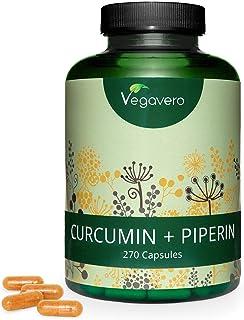 Curcumina 1140mg + Piperina 28.5mg Vegavero® | TRIPLE