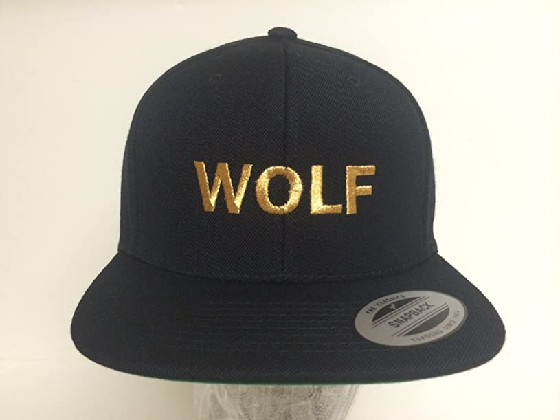 WOLF Gold Snapack Odd Future Hat Tyler the Creator wq9766516