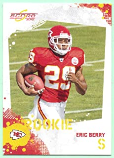 Eric Berry 2010 Score Rookie #339 - Kansas City Chiefs