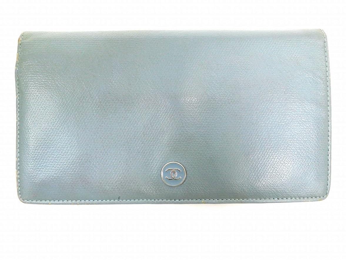関与する頑張る無し[シャネル] CHANEL 二つ折り財布 ココボタン レザー X3714 中古