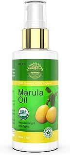 Marula Oil Gold Organic Natural- 100% Pure, face, Hair, Body, Hands, Virgin, Non GMO, Cold Pressed, Unrefined, Moisturizing & Balancing Maracula Botanicals