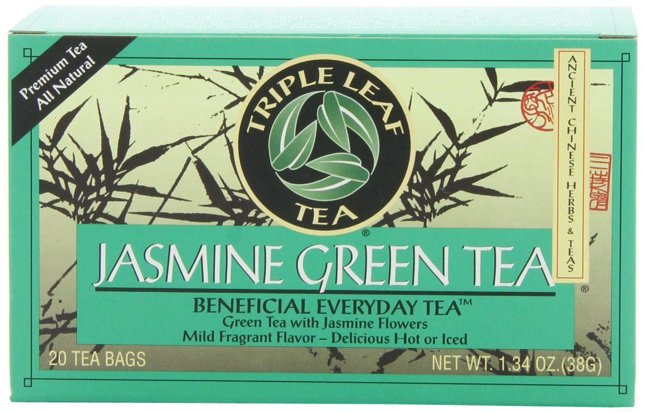 Triple Leaf Tea El Paso Mall Jasmine Green Fashionable 20 6 Bags of Pack