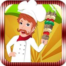 BBQ Maker - Barbacoa de pollo parrilla juegos - Juegos de cocina para las niñas.
