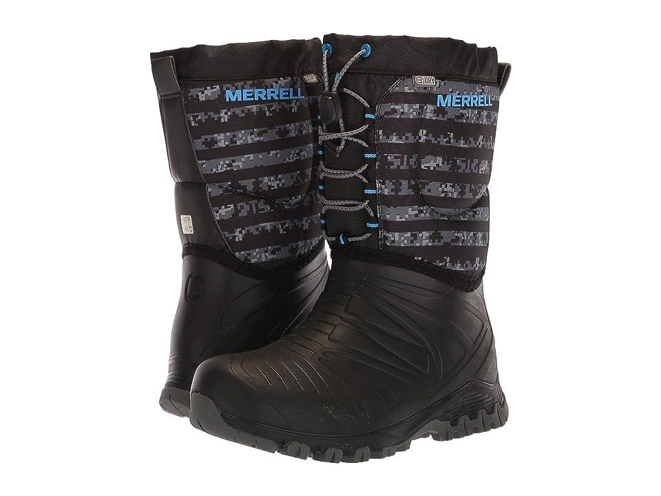 Merrell Kids Snow Quest Lite Waterproof (Big Kid) (Black/Grey) Boys Shoes