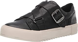 FRYE Women's Gia Moto Low Sneaker