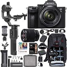 Sony a7III Full Frame Mirrorless Camera + FE 28-70mm F3.5-5.6 Lens ILCE-7M3K/B Filmmaker's Kit with DJI Ronin-SC 3-Axis Ha...
