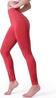 3e177f2dfe1c7 POSHDIVAH Yoga Pants for Women High Waisted Tummy Control Non See Through Workout  Leggings