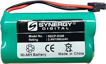 Panasonic KX-TG2000B (Handset) Cordless Phone Battery Ni-MH, 2.4 Volt, 1500 mAh - Ultra Hi-Capacity - Replacement for Panasonic HHR-P506 Rechargeable Battery
