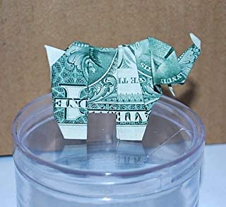 Dollar bill elephant - Money Origami elephant - money elephant - US dollar bill - elephant Gift