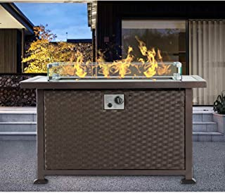 Best gas fire pit with glass Reviews