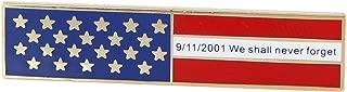 Never Forget 9-11 - American Flag Citation Bar (Value Pack) (1 Pack)