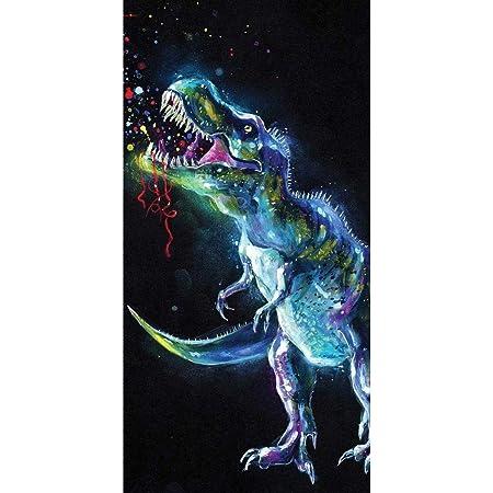 License Sweet Home / Jerry Fabrics Dinosaure Serviette de Plage Colorée