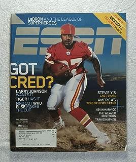 Larry Johnson - Kansas City Chiefs - ESPN Magazine - May 22, 2006 - Steve Yzerman, US World Cup Soccer, Kevin Harvick, The Weaver Brothers, Travis Hafner articles