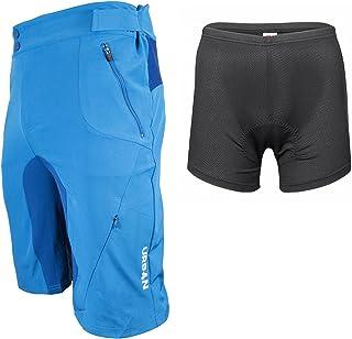 شلوارک دوچرخه سواری شهری Flex MTB Trail Shorts - شورت های دوچرخه کوهستان نرم پوسته پوسته با جیب های فشرده و آویز