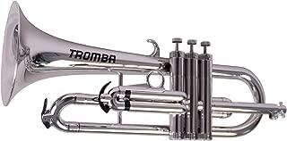 Tromba TF-SL Pro Professional Plastic BB Flugelhorn, Silver