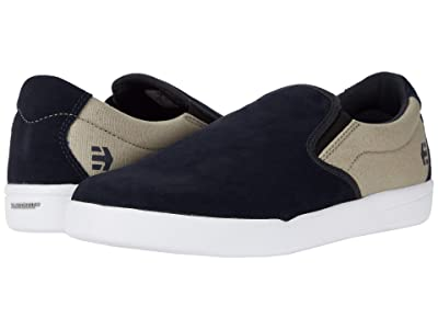 etnies Veer Slip (Navy/Tan) Men