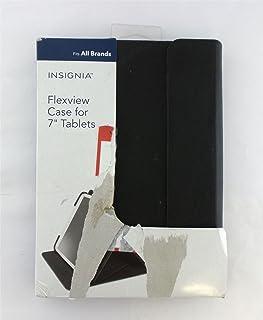 "Insignia FlexView Folio Case for Most 7"" Tablets Black - NS-MUN7F3B"