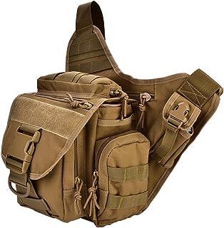 Paquete Militar del Bolso del Pecho del Pecho De Los Hombres Durables 2colors para El Viaje Que Camina El Equipo Al Aire Libre