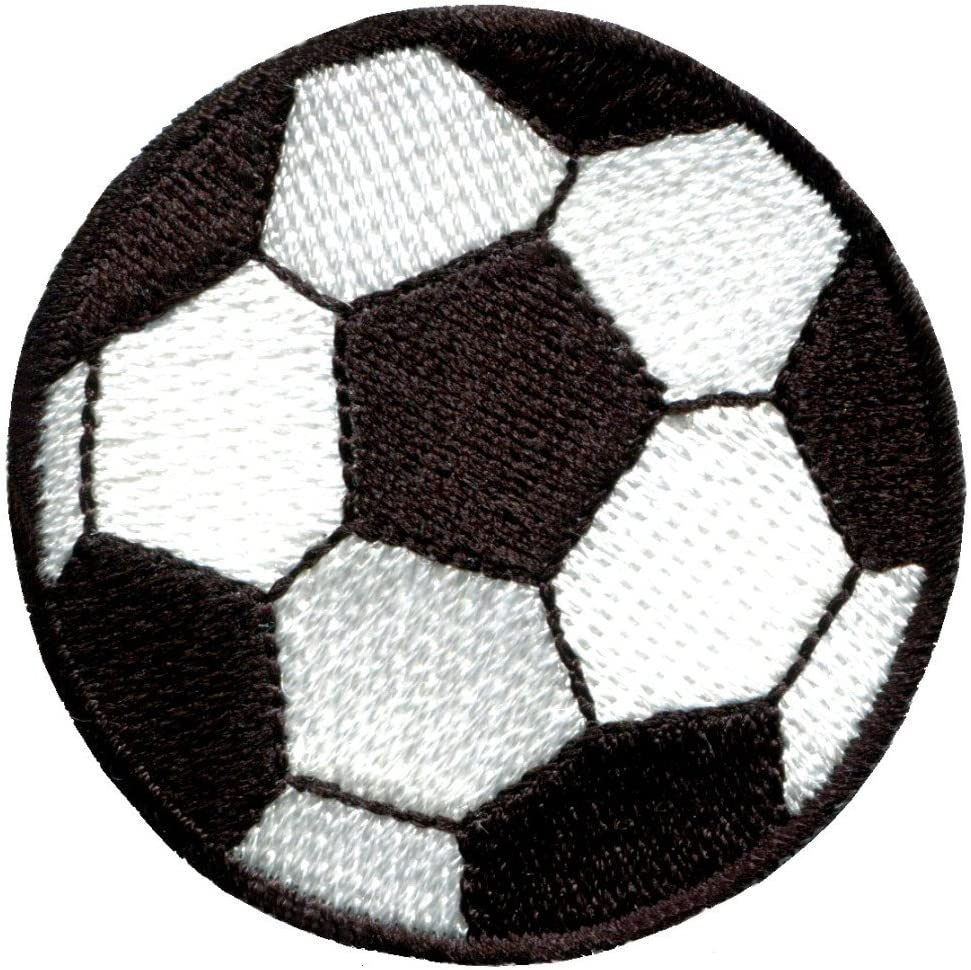 Soccer Ball Football Charlotte Mall Sports World Challenge the lowest price of Japan ☆ Cup Applique Retro Iron-on Pat
