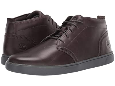 Timberland Groveton Lux Chukka (Dark Grey Full Grain) Men