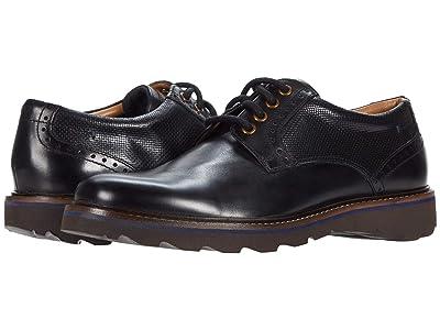 Nunn Bush Buchanan Plain Toe Oxford (Black) Men