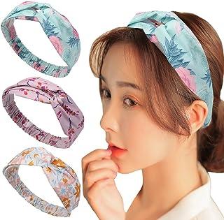 00dfc068c2de7 Vellette Bandeau Cheveux Nœud d oreille de Chat Turban Noué Bande Elastique  Cheveux Accessoire Cheveux