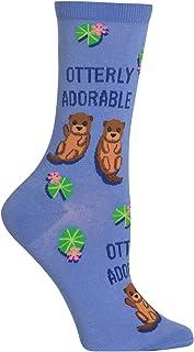 Hot Sox Women`s Otterly Adorable Socks