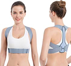 Posture Corrector for Women and Men, Upper Back Brace Straightener Posture Corrector for Clavicle Chest Support and Adjust...