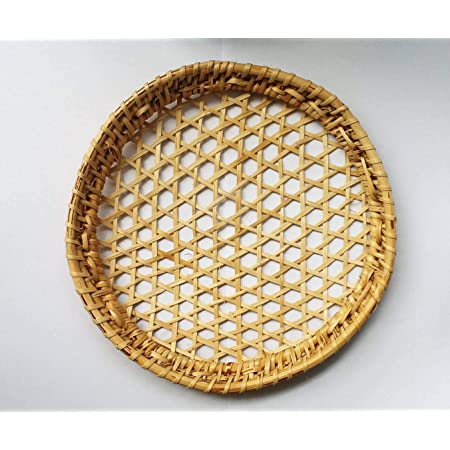15 Trays Cane String Hopper Tray Idiyappam Plate Eco Friendly Organic Reusable