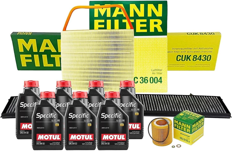 7L SPECIFIC LL01FE 5W30 Oil Filter 35% OFF with Service kit Compatible supreme E