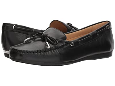 MICHAEL Michael Kors Sutton Moc (Black Nappa) Women