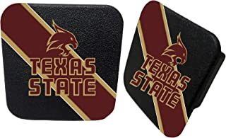 Texas State University Rubber Trailer Hitch Cover-Texas State Bobcats Hitch Cover