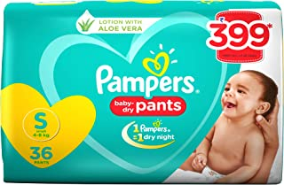 Pampers New Diapers Pants, Small, 36 Count