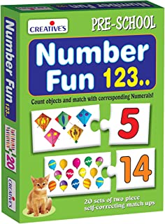 Creative's CRE0635 Mathematics & Counting Educational Toys  3 Years & Above,Multi color