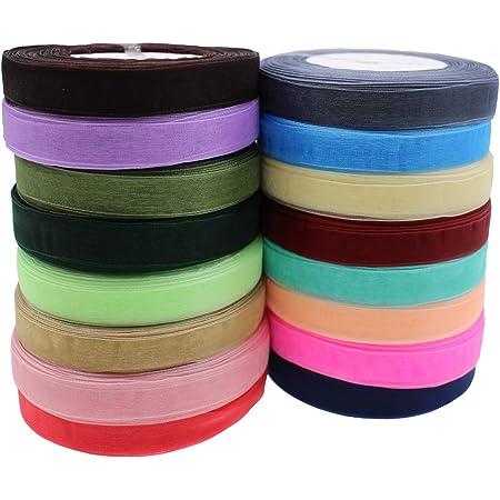 40mm width Satin Ribbon Light Purple   HAIR CLIP party