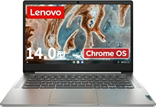 Lenovo Chromebook IdeaPad Slim 360 ノートパソコン(14型FHD TN液晶/日本語キーボード/MediaTek MT8183/4GBメモリ・64GB) グレー