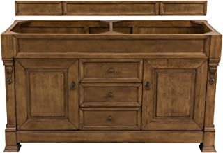 60 in. Double Cabinet in Country Oak Finish