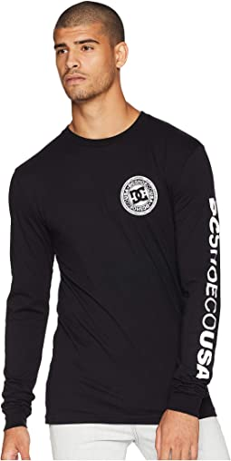 Circle Star Long Sleeve Tee