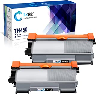 LxTek Compatible Toner Cartridge Replacement for Brother TN450 TN420 TN 450 to use with HL-2270DW MFC-7360N MFC-7860DW MFC-7460DN MFC-7460DN DCP-7065DN (2 Black)