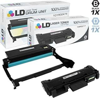 LD Compatible Toner Cartridge & Drum Unit Replacements for Xerox Phaser 3260 & WorkCentre 3200 Series (1 Toner, 1 Drum, 2-Pack)