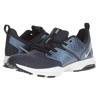 Nike Air Bella TR Premium (Black/Metallic Silver/Armory Navy) Women