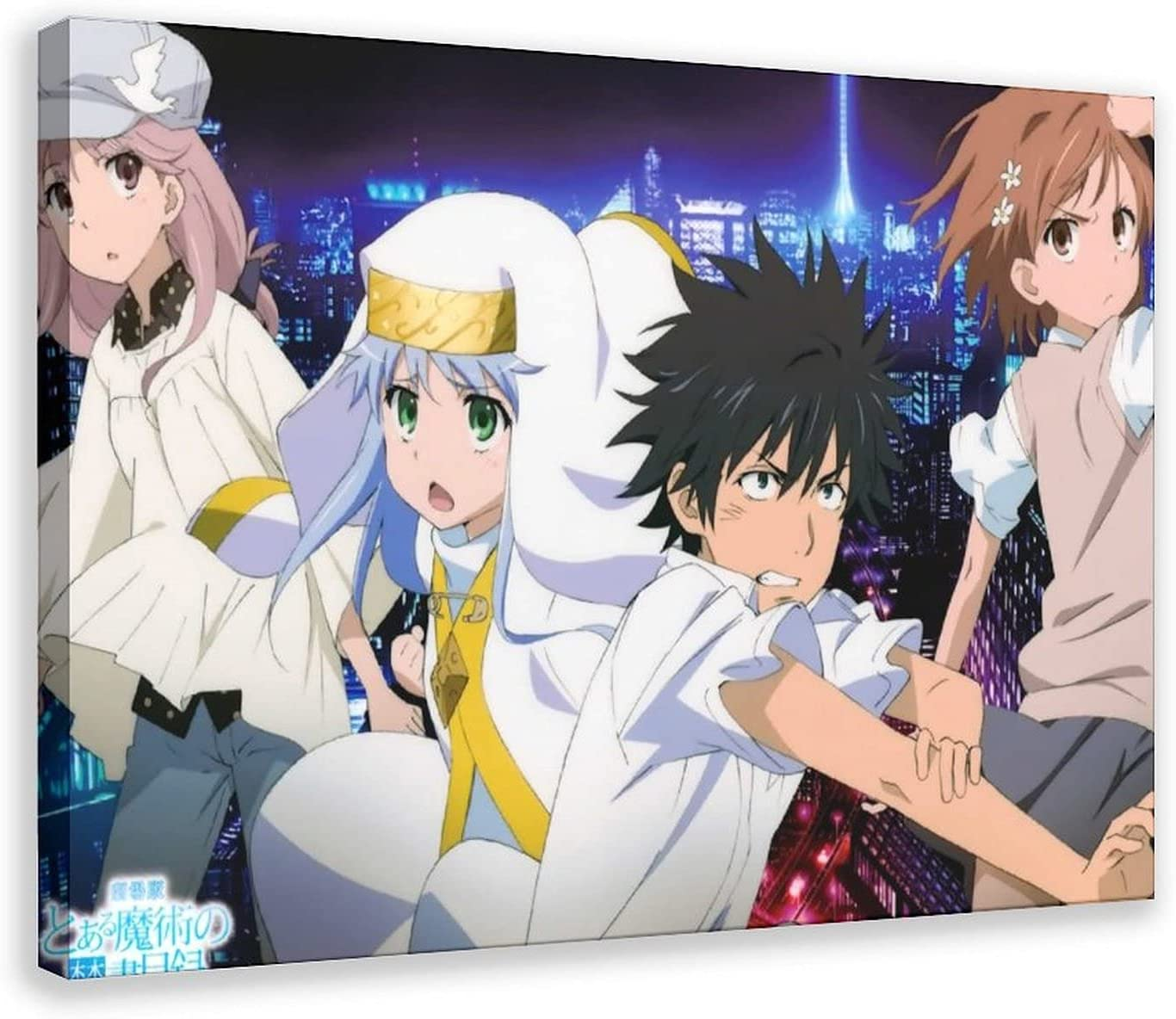 Anime A Certain New Free Shipping Year-end gift Magical Index 33 Spo Canvas Bedroom Poster Decor