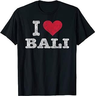 Vintage I Love Bali T-Shirt Trendy Gift