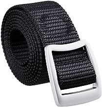 squaregarden Men's Nylon Tactical Duty Belt Webbing Military Style Belts for Men