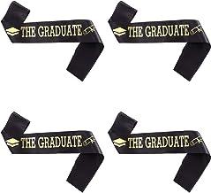 ABOOFAN 2021 Graduation Sash Klasse Van 2021 Graduation Sash Met Gold Glitter Letterthe Graduate Voor Graduation Party Dec...