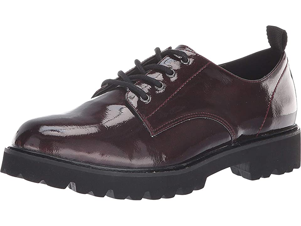 JANE AND THE SHOE Lowell (Burgundy Patent) Women